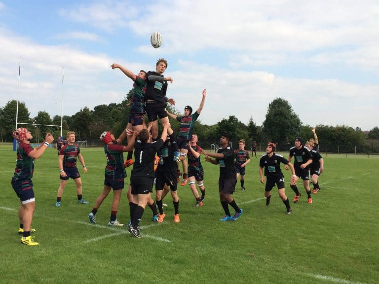 Dr Challoner's Rugby Team