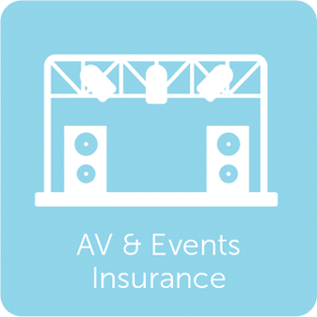 Audio Visual and Events Insurance